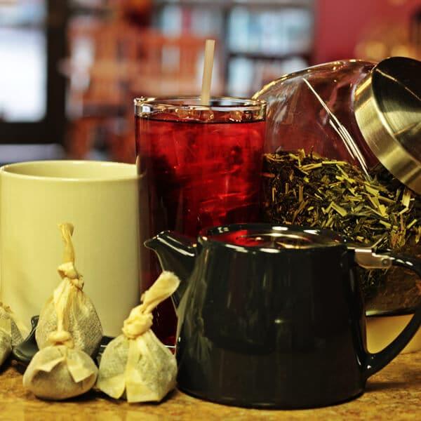 The Perk has Artisan Loose Leaf Teas